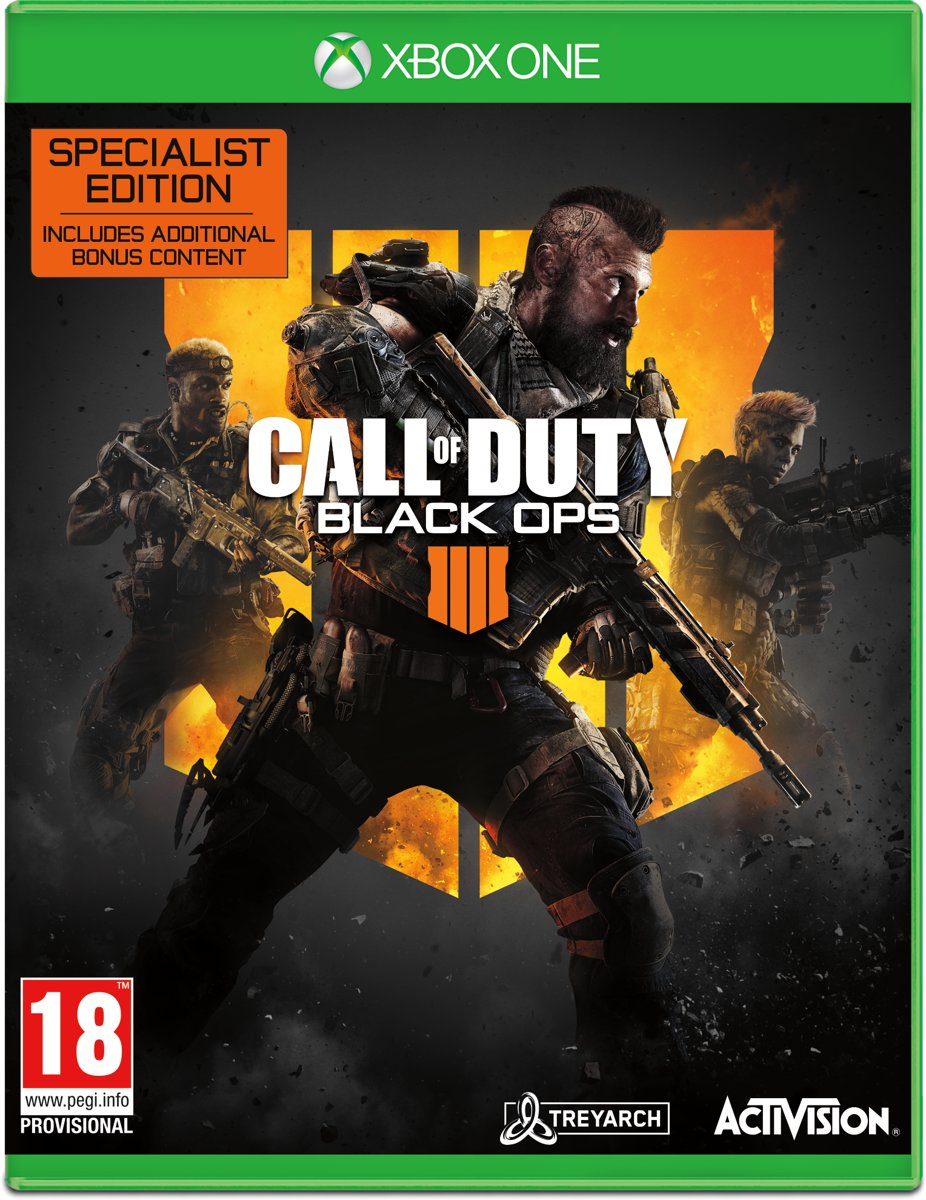 Call of Duty: Black Ops 4 - Specialist Edition Xbox One