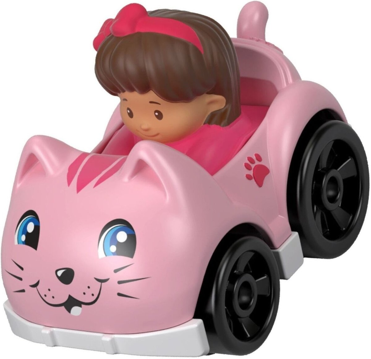 Fisher-price Little People Wheelies Auto 6,5 Cm Roze (fhb96)