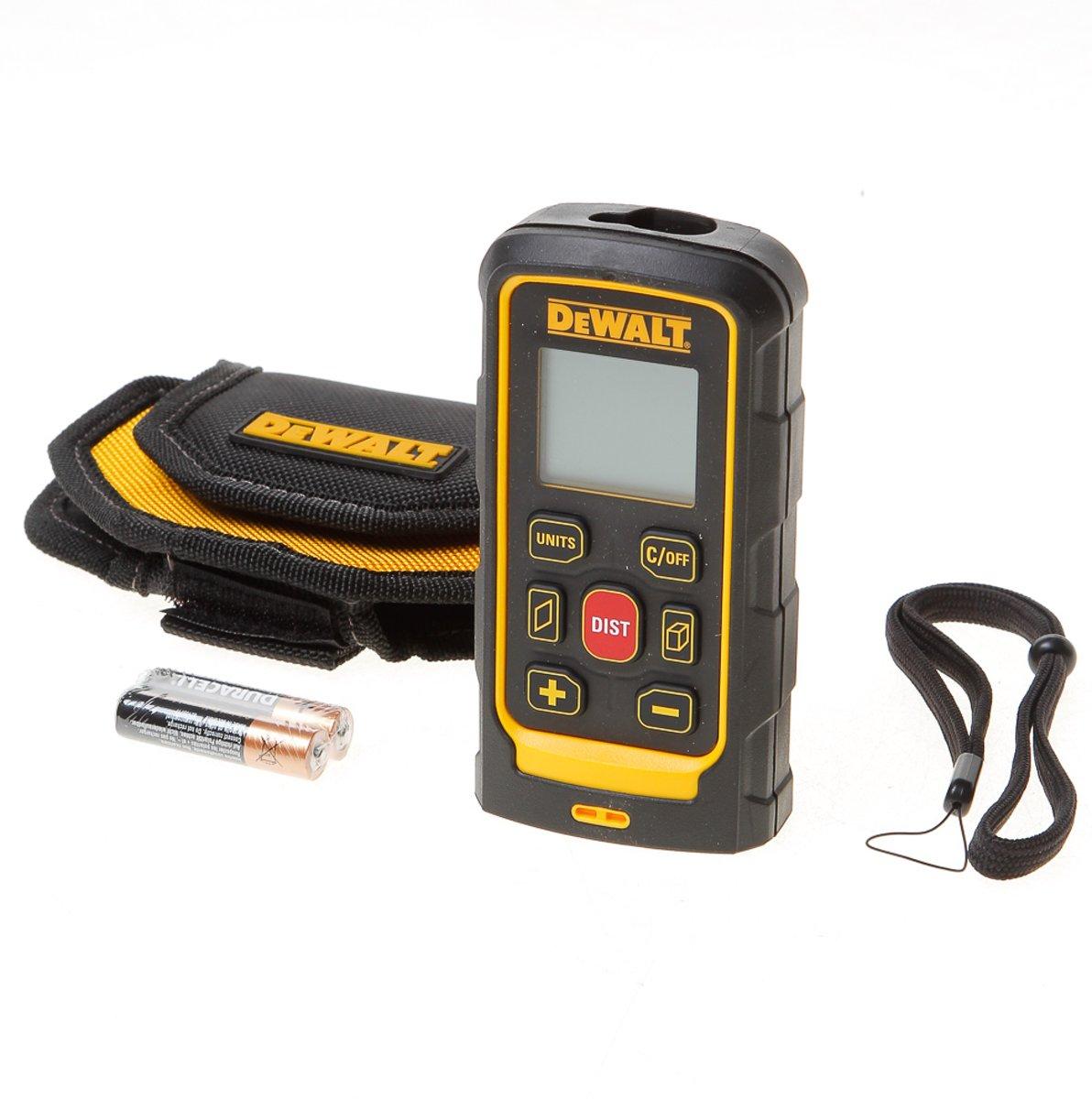 DeWalt DW03050 Gelb/Schwarz Laser-Distanzmesser kopen