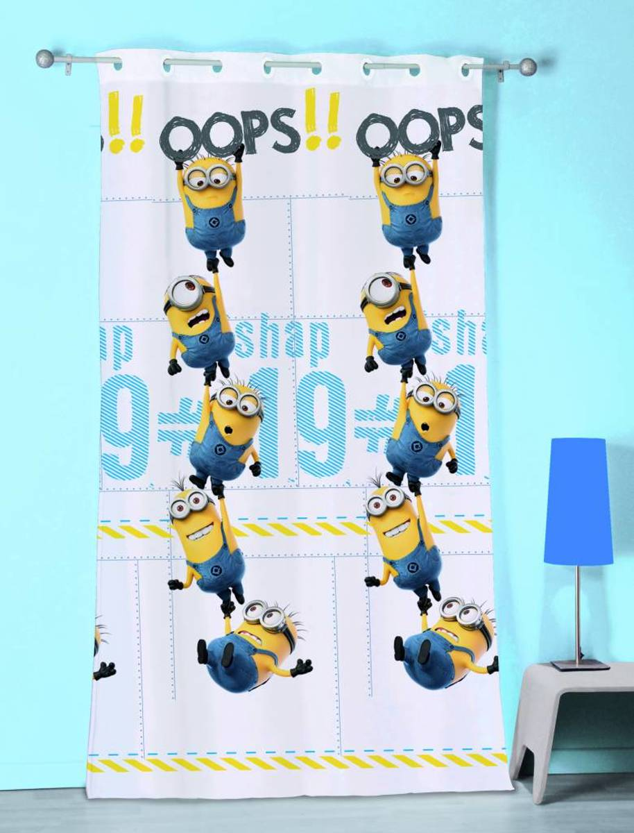 Minions Oops - Vitrage / Gordijn - 140 x 240 cm - Multi kopen
