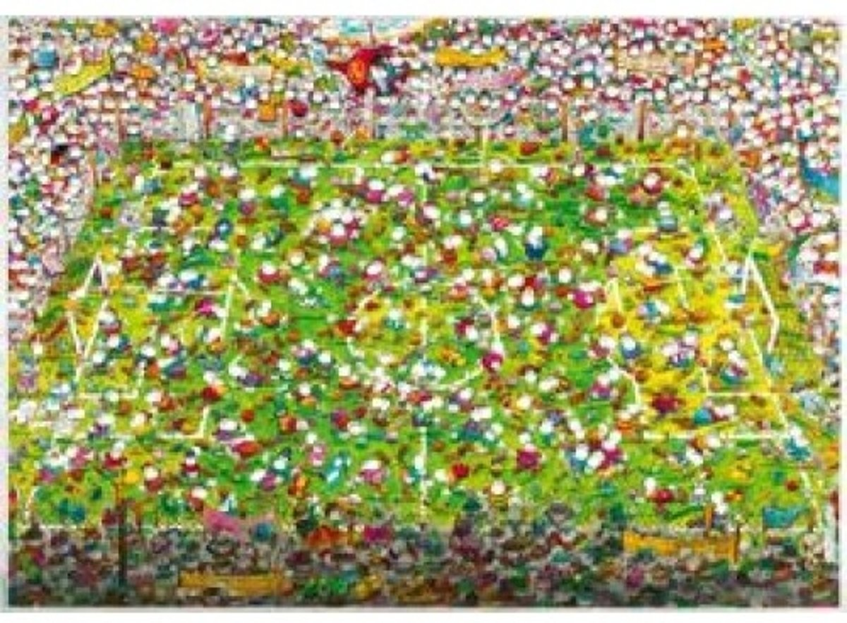 Crazy World Cup, Mordillo - Legpuzzel - 4000 Stukjes