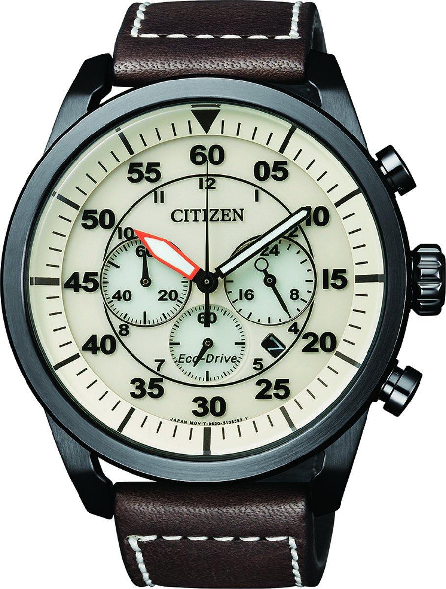 Citizen CA4215-04W - Horloge - 45 mm - Zwart kopen