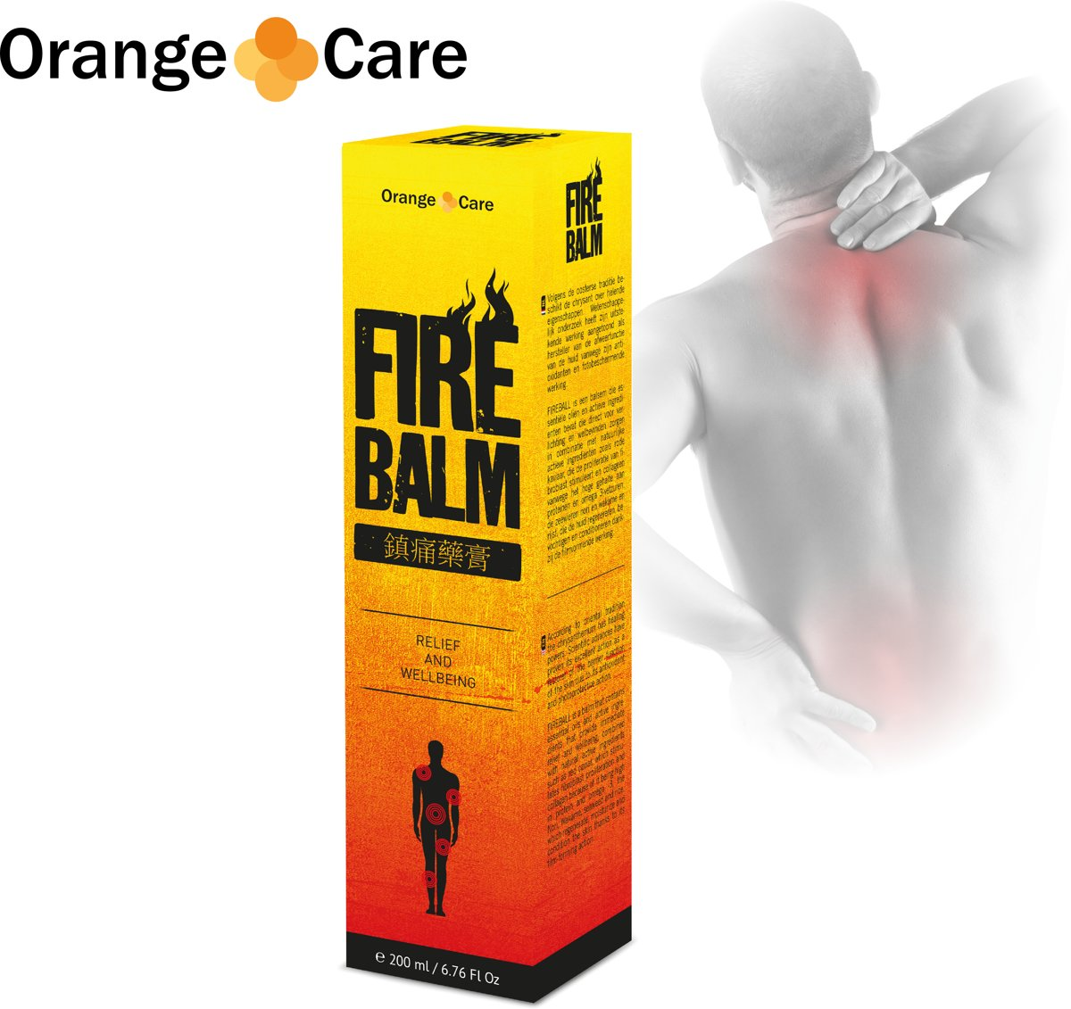 Orange care fire balm - Spierzalf - Balsem - Verwarmt kopen