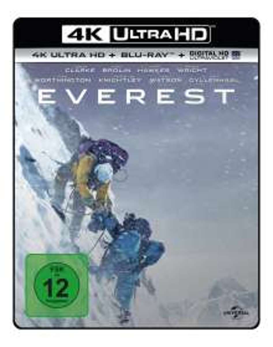 Everest (Ultra HD Blu-ray & Blu-ray)-