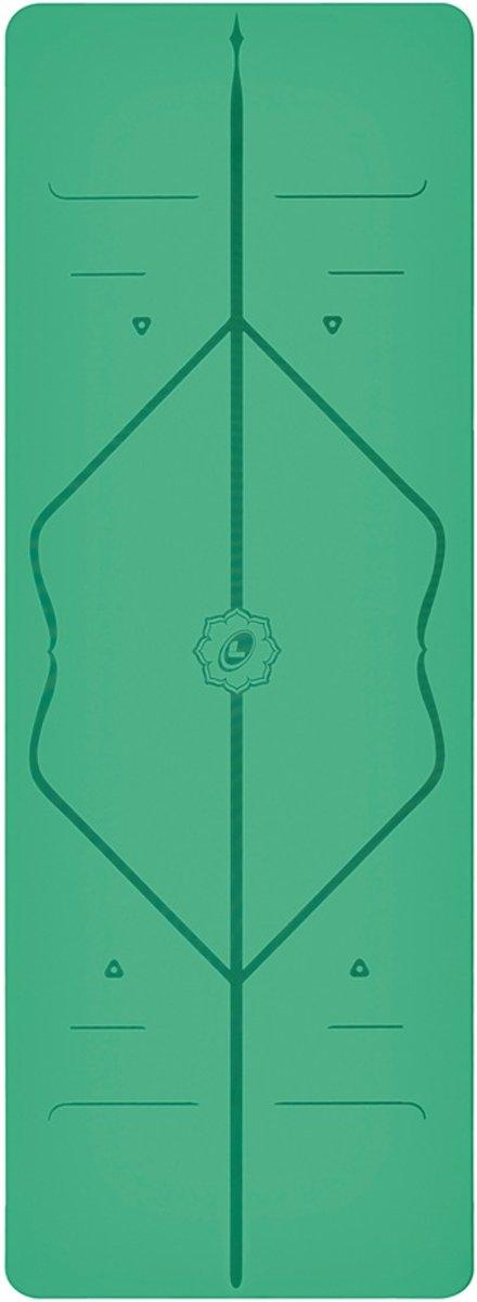 Liforme - Yoga mat - 185 cm x 68 cm x 0,4 cm - Groen kopen