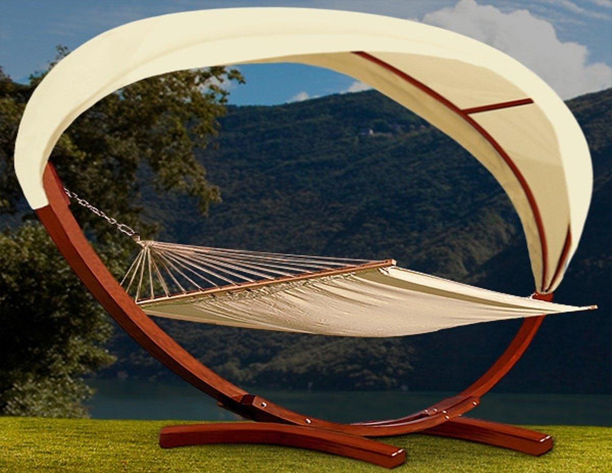 Luxe hangmat voor twee personen, hardhout