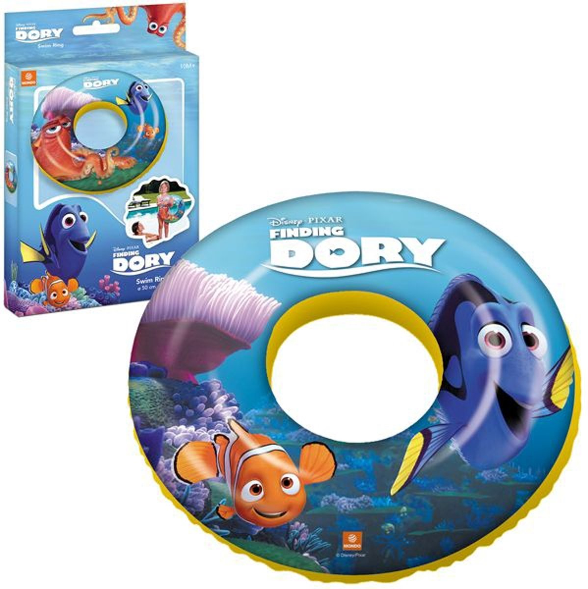 Finding Dory zwemring / zwemband 50 cm