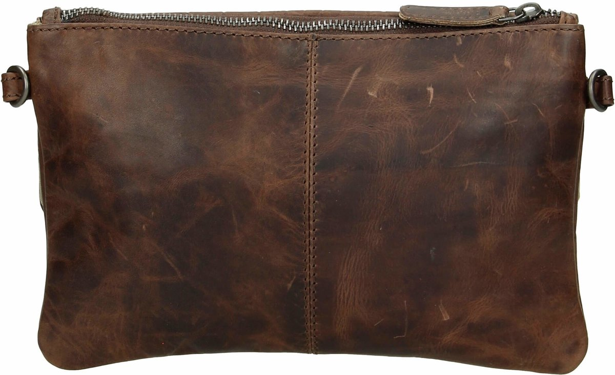 2761952484f bol.com | Micmacbags Everglades clutch - Dark Brown