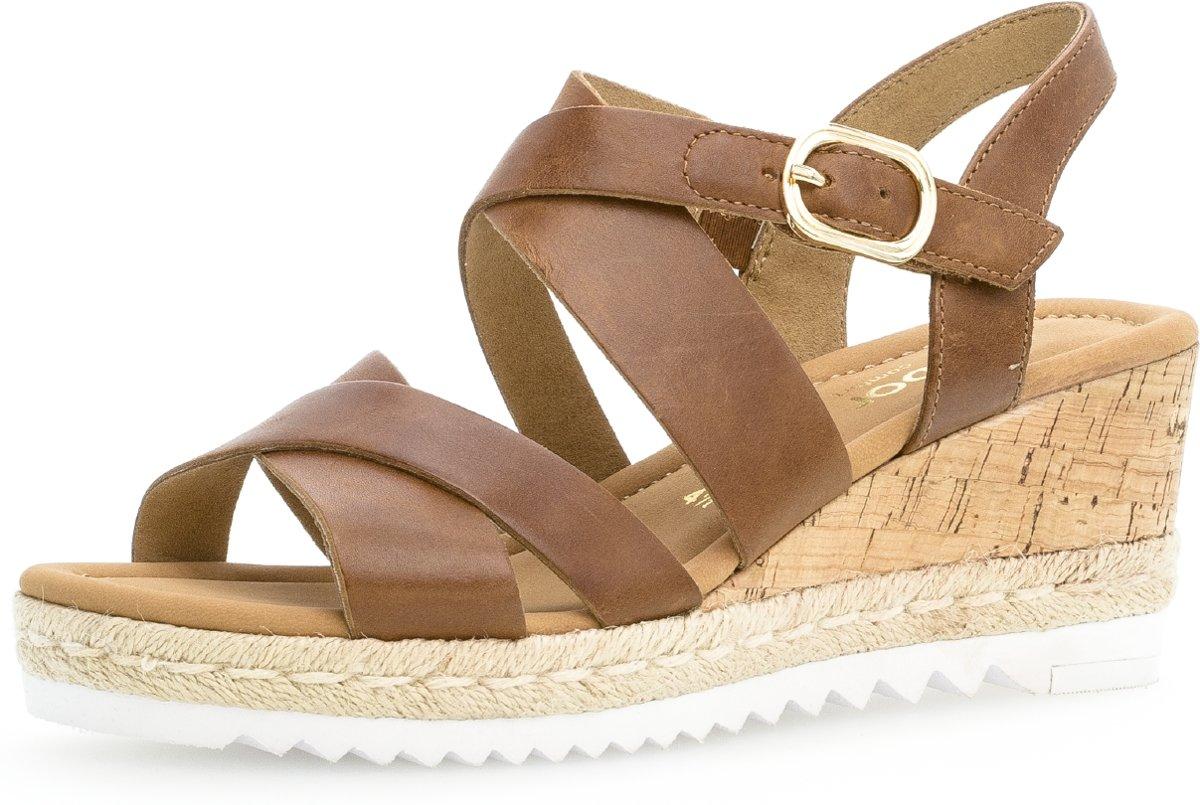 Gabor Dames Sandalette bruin Maat 2.5