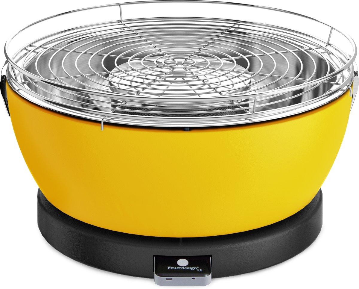 Feuerdesign Vesuvio Tafelbarbecue - Geel kopen