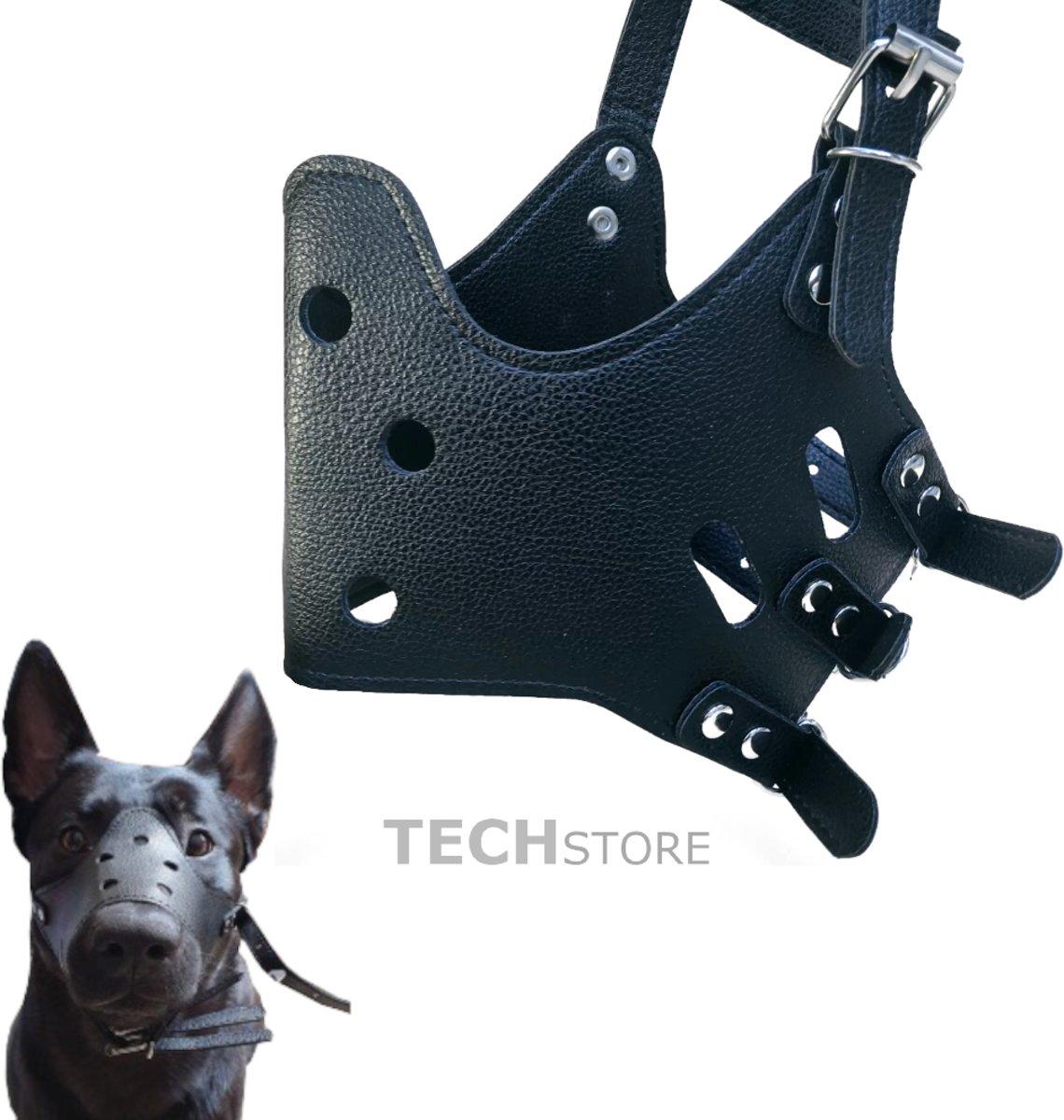 muilkorf | muilband | honden | XL | tegen | blaffen | eten | bijten | verstelbaar kopen