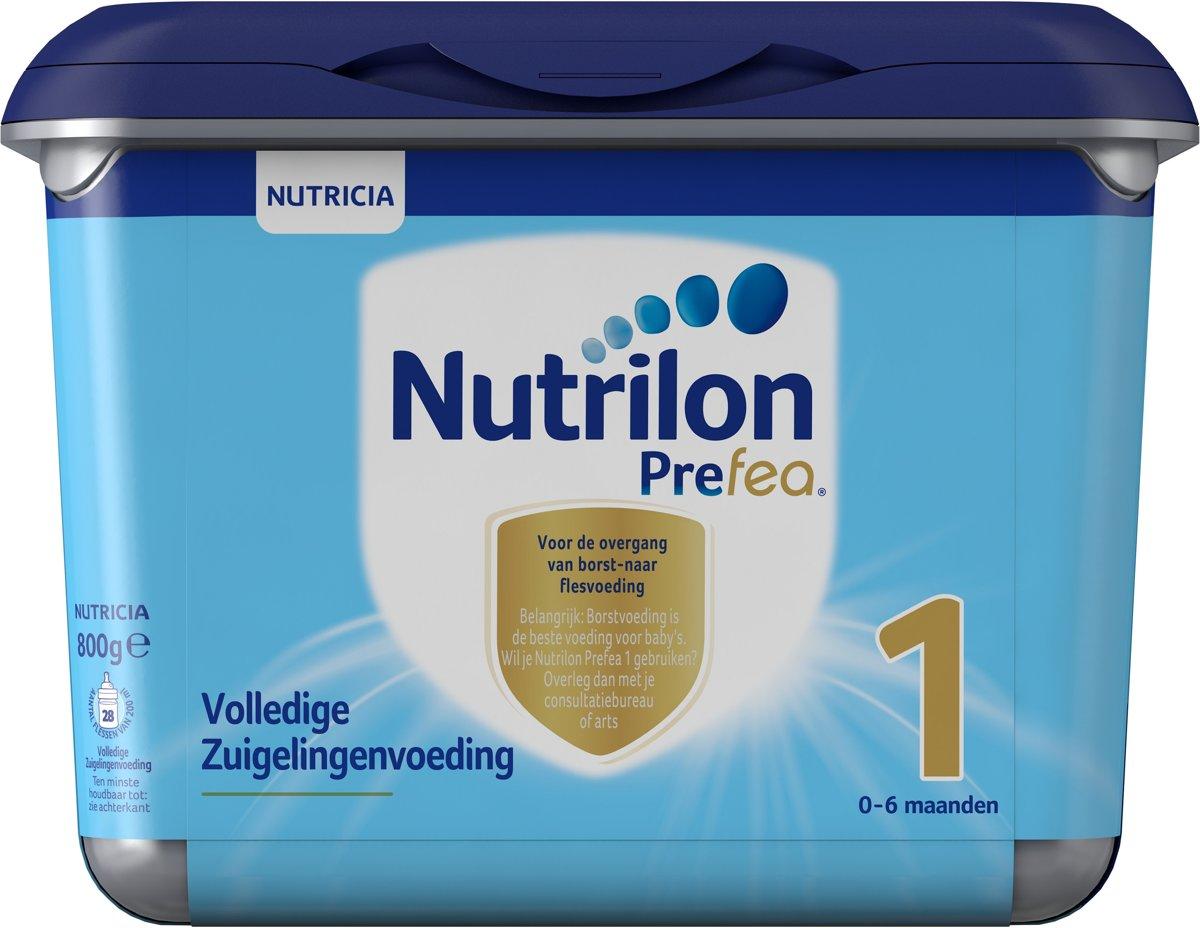Nutrilon Prefea 1 Flesvoeding - 800 gram kopen