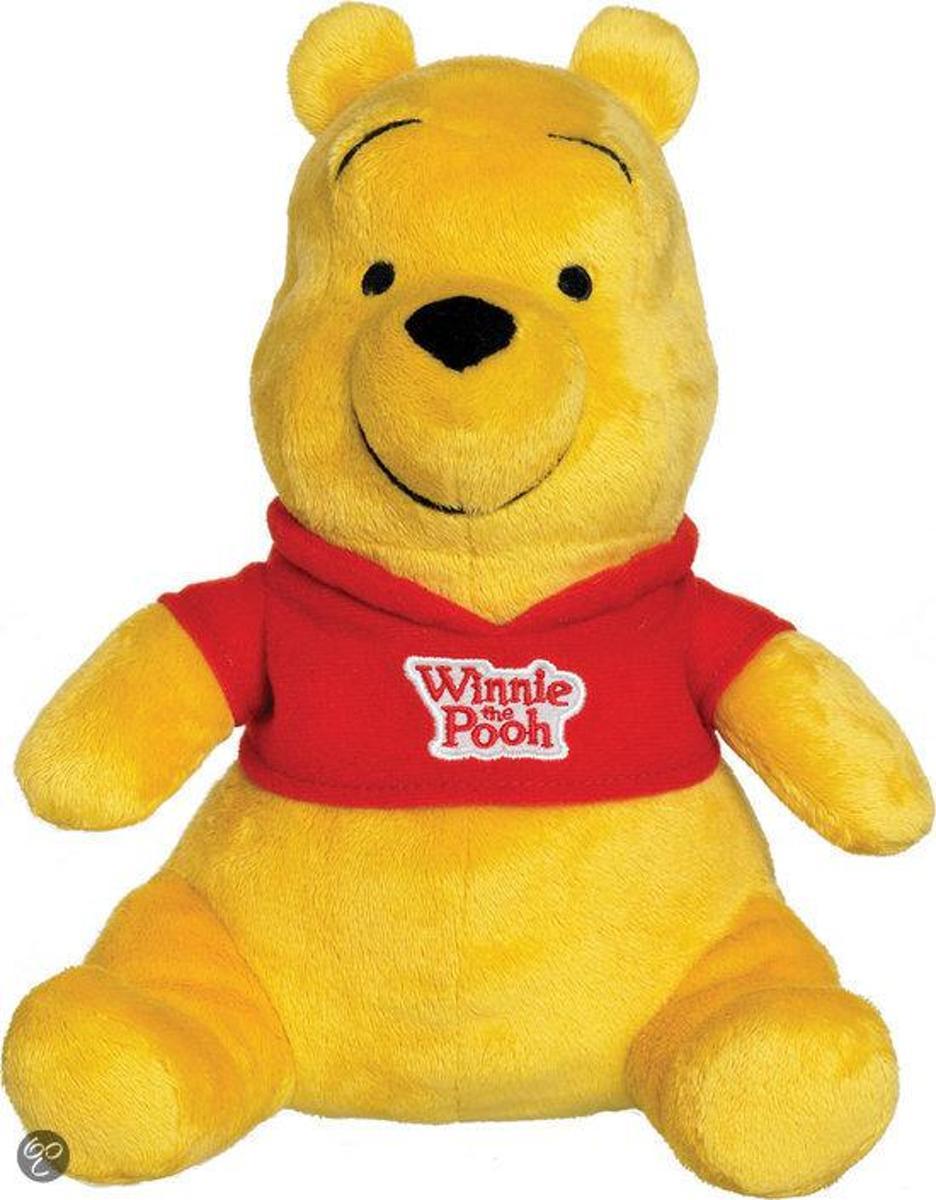 Pluchen Winnie de Poeh met Geluid 20 cm