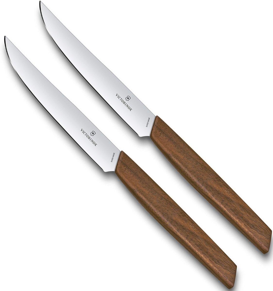 Victorinox Swiss Modern steakmessenset 2-delig kopen