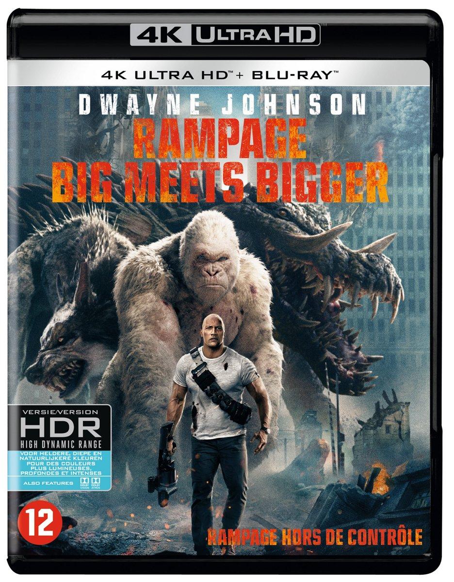 Rampage: Big Meets Bigger (4K Ultra HD Blu-ray)-