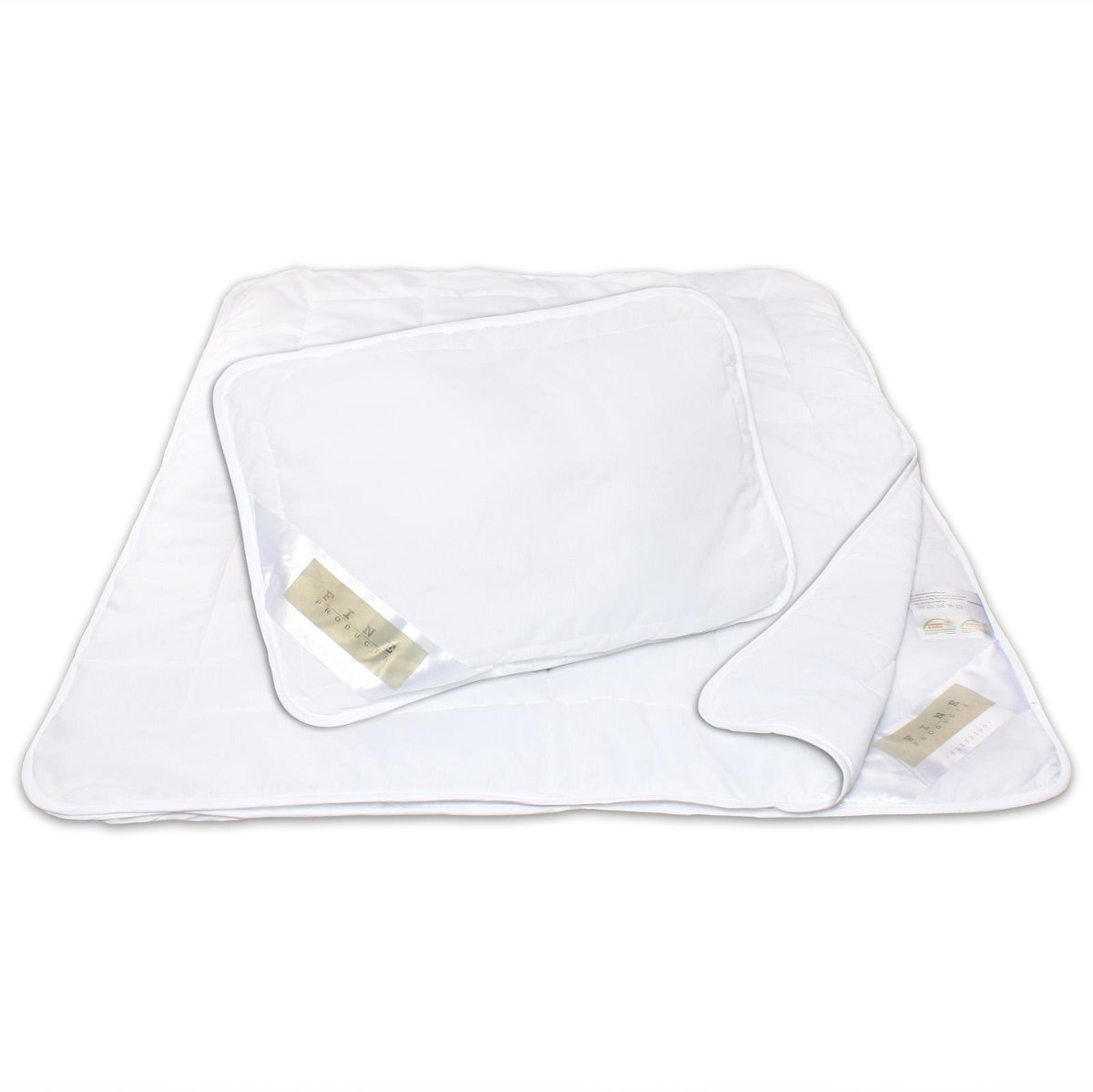 Hanse® 4-Seizoenen Kinderdekbed - 100x135cm - 200gr/300gr & kussen kopen