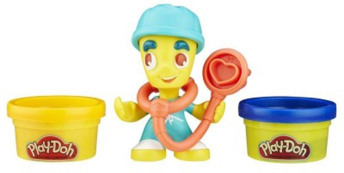 Play-Doh Town Figuren - Speelklei
