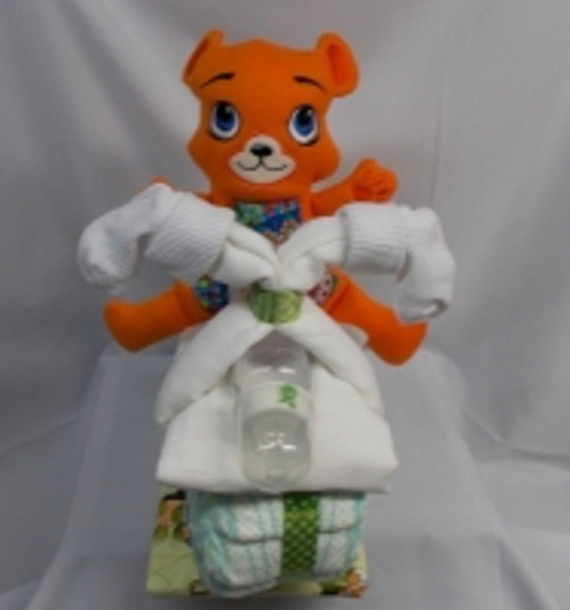 Brommer groot beer ted oranje kopen