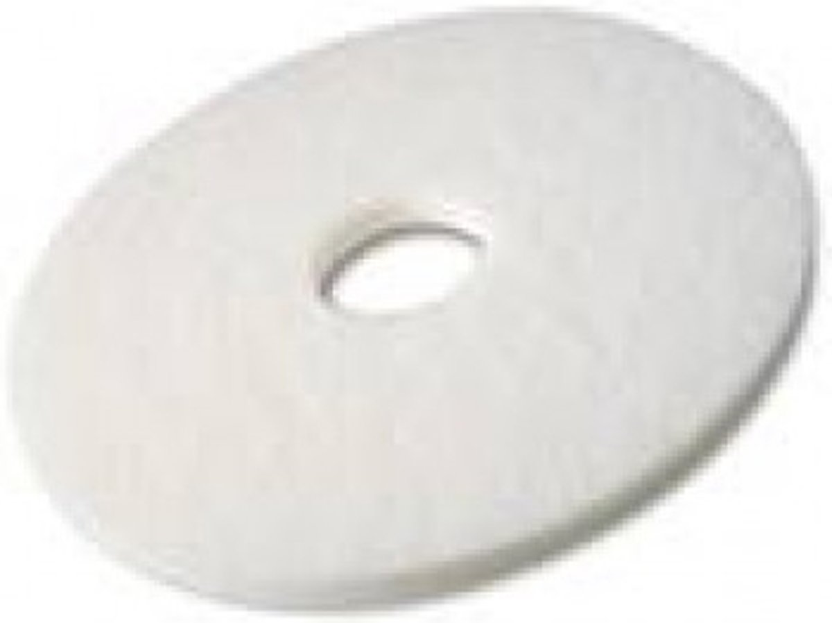 Nylon Pads Wit - 33 CM, 2CM, 13 inch (High Quality) kopen
