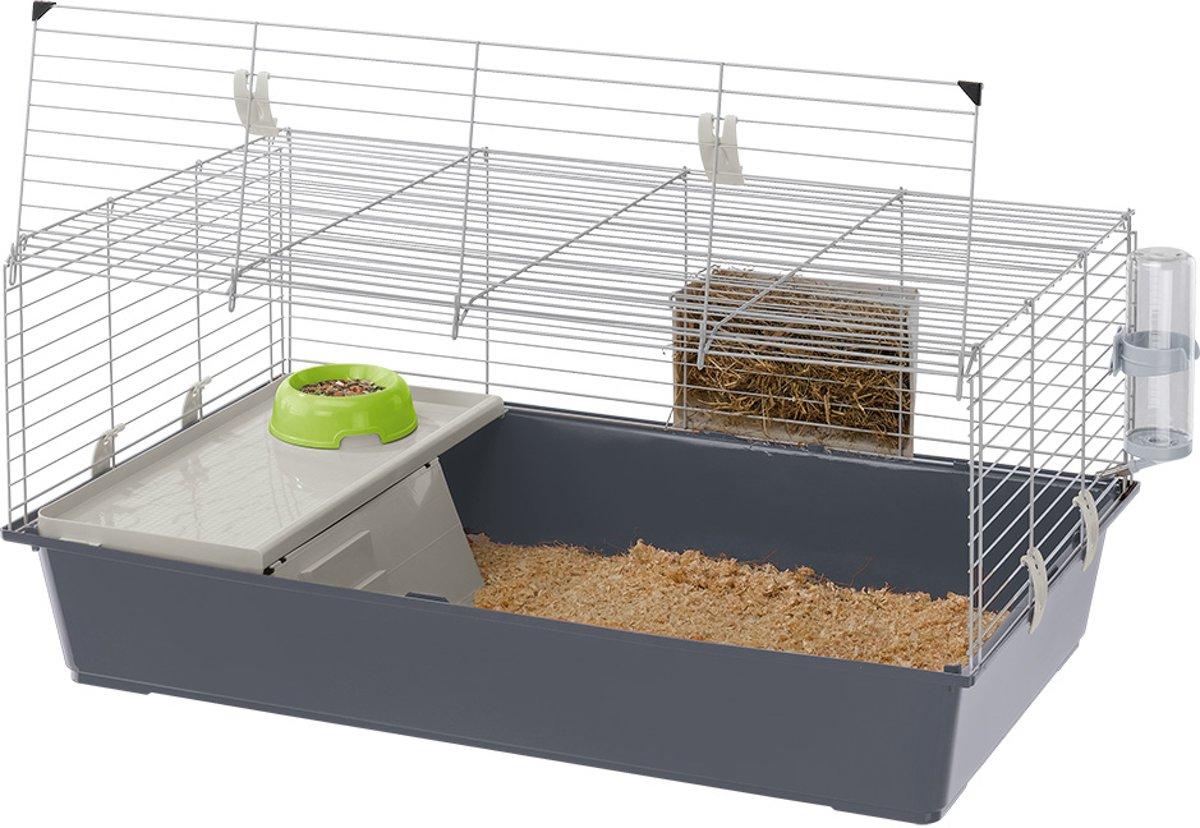 Ferplast Rabbit 100 Konijnenkooi - 95 x 57 x 46 cm
