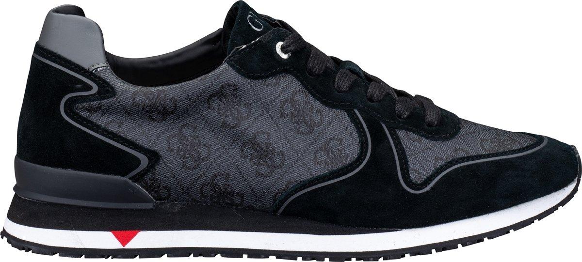 Guess New Glory M Heren Sneakers ZwartGrijs Maat 40