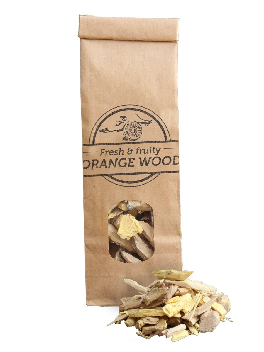 Smokey Olive Wood - Houtsnippers - Sinaasappelhout - 500ml - Rookchips medium ø 5mm-1cm kopen