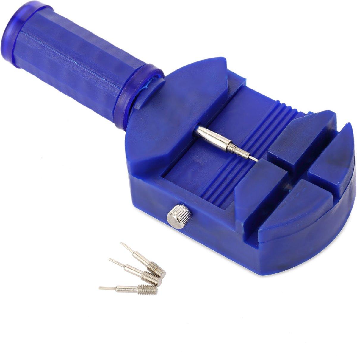 Horloge Band Inkorter + 3 Extra Doordruk Pinnen| Horloge Gereedschap | Blauw kopen