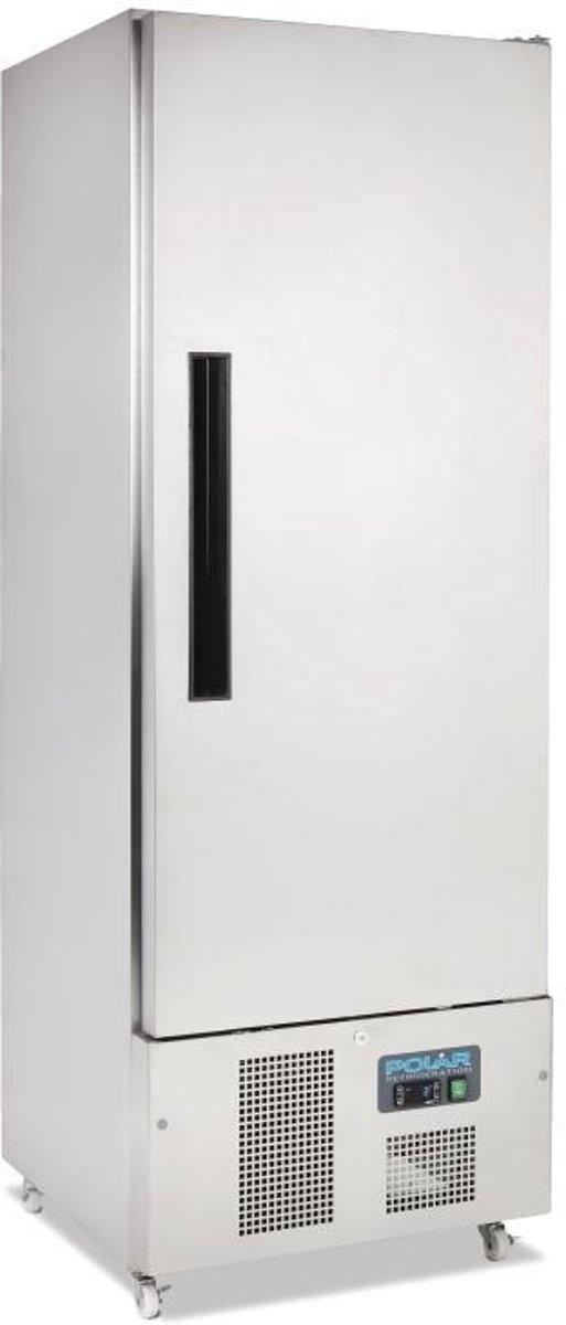 Polar 1-deurs slimline RVS koeling 440ltr kopen