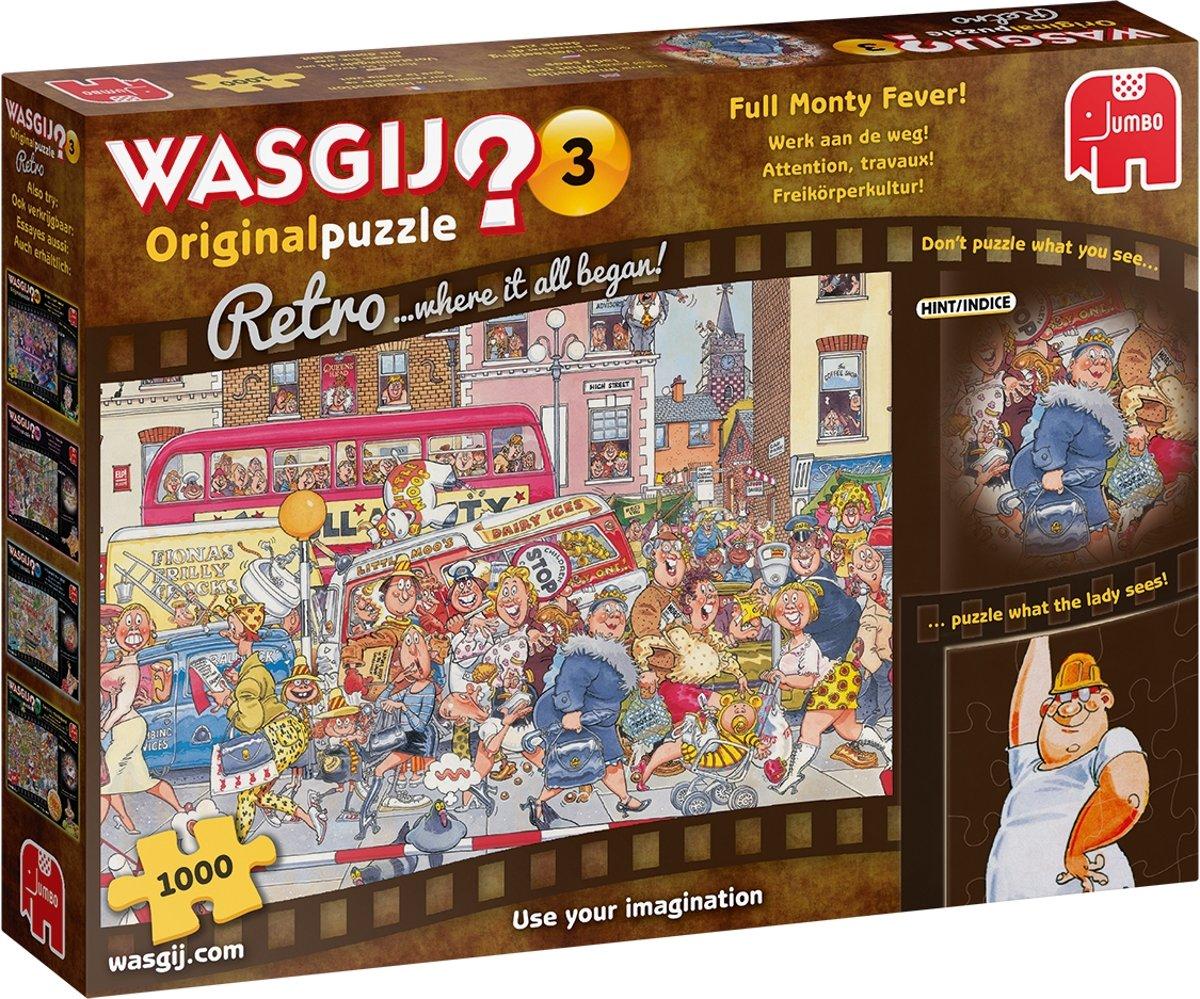 Wasgij Retro Original 3 Werk aan de Weg! (1000) kopen
