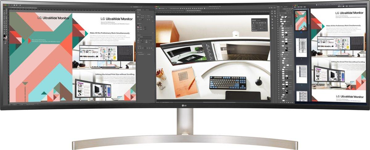 LG 49WL95C-W LED display 124,5 cm (49'') UltraWide Quad HD Gebogen Wit kopen