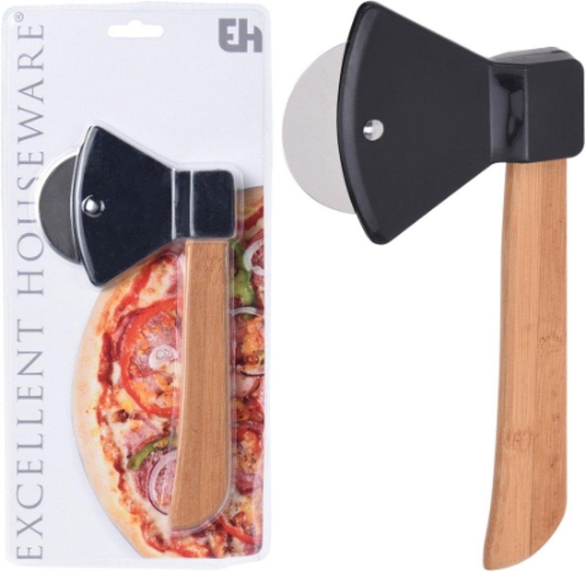 Pizzasnijder Hakbijl - RVS - Excellent Houseware kopen