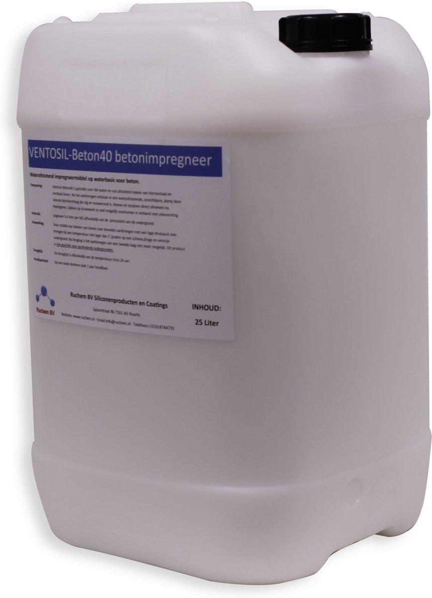Ventosil Beton40 Betonimpregneer 25 liter kopen