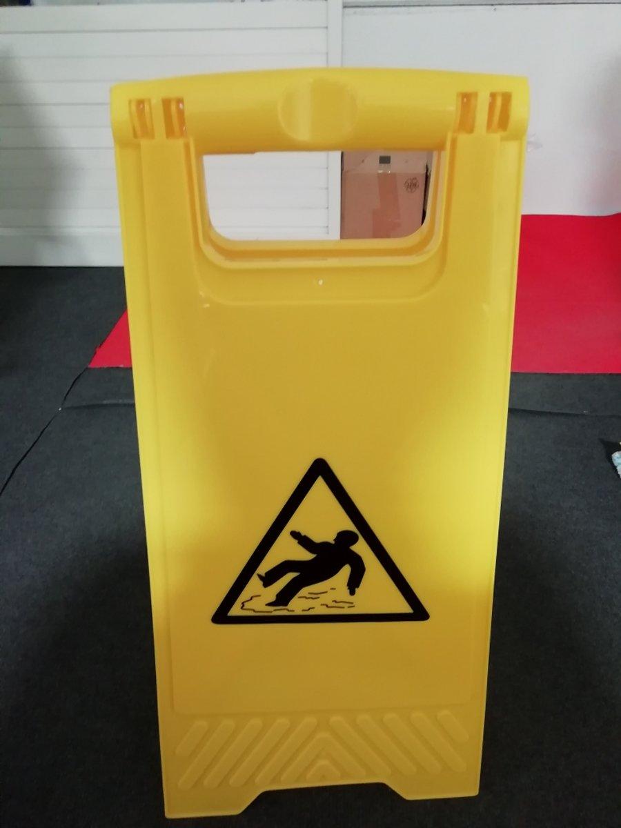 Slipgevaar waarschuwingsbord kopen