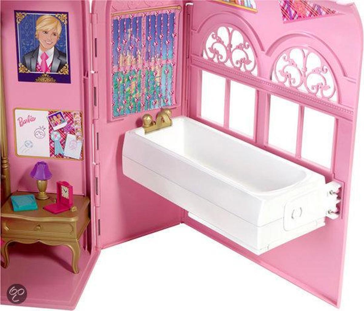 bol.com | Barbie Prinses Slaapkamer Speelset, Mattel | Speelgoed