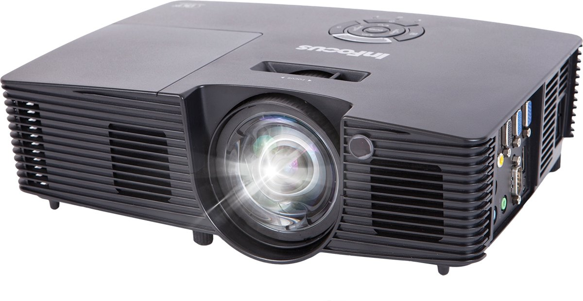 Infocus IN114XV Desktopprojector 3400ANSI lumens DLP XGA (1024x768) Zwart beamer/projector kopen