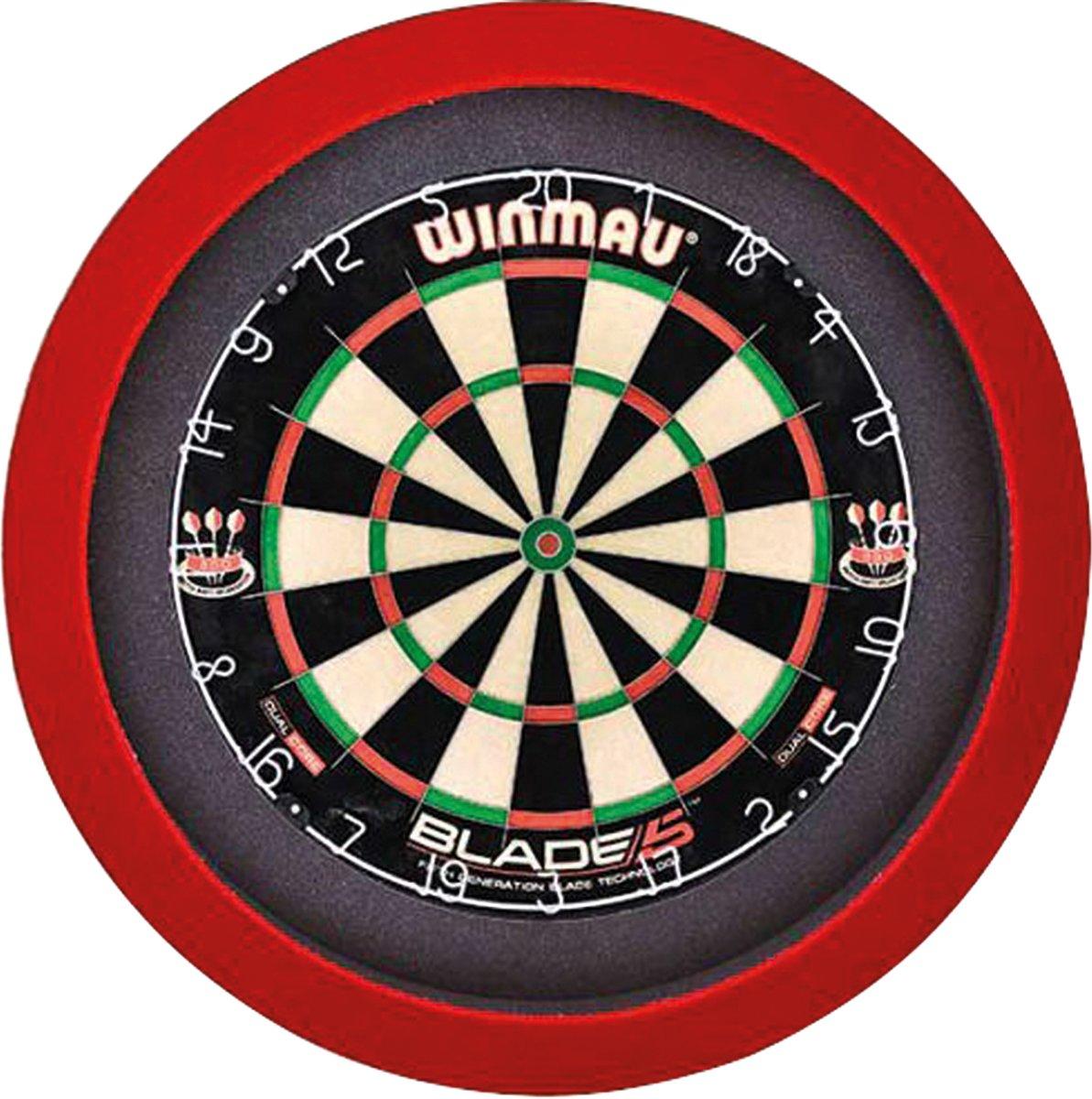 GrandSlam dartbord led-lighting rood