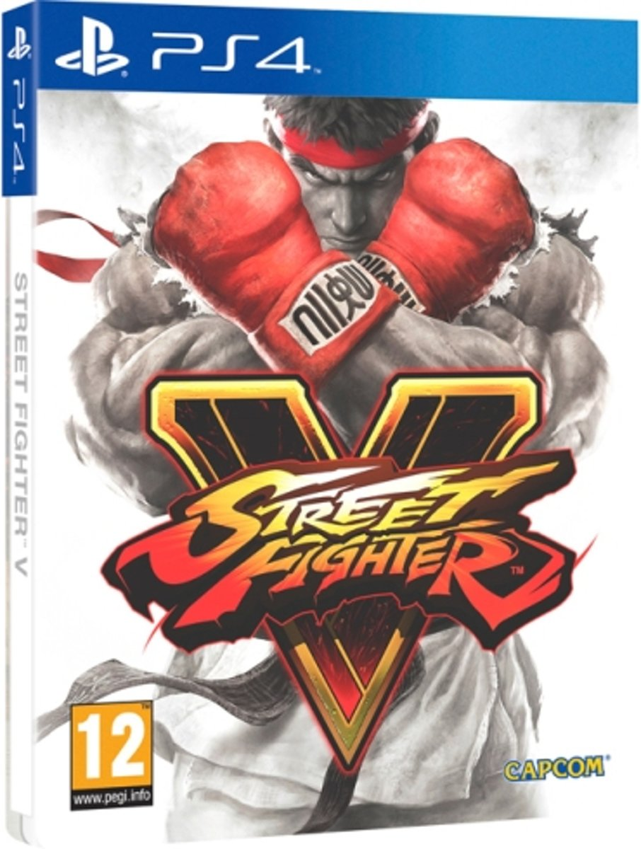 Street Fighter V Steelbook PlayStation 4