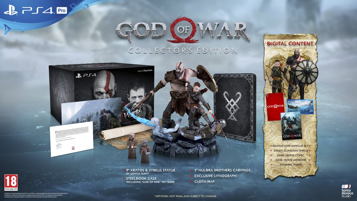 God of War - Collector's Edition PlayStation 4