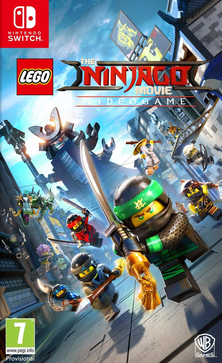 LEGO Ninjago Movie The Game Switch