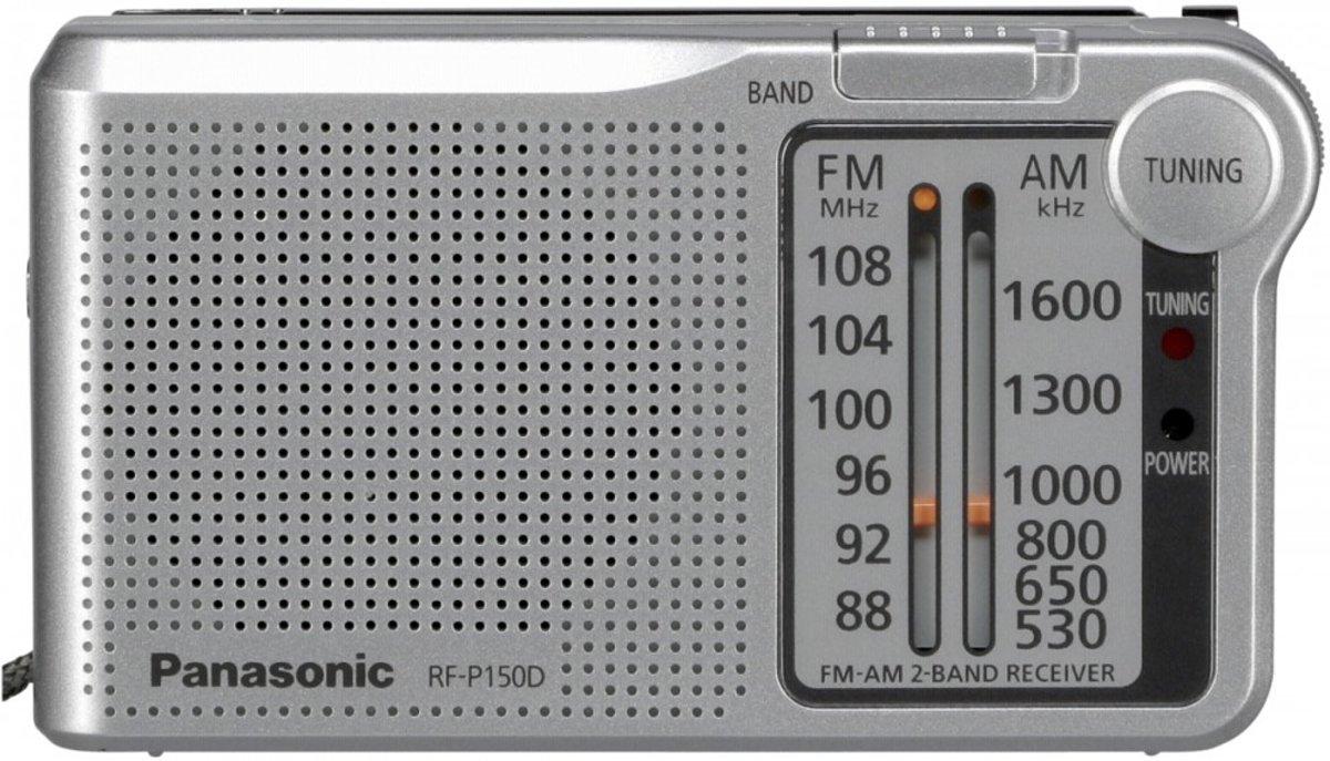 Panasonic RF-P150DEG Draagbaar Analoog Zilver radio kopen