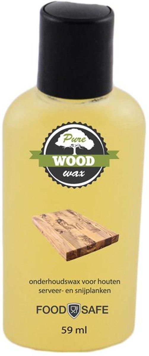 Pure Wood Care Pure Wood wax 59 ml - Minerale Olie kopen