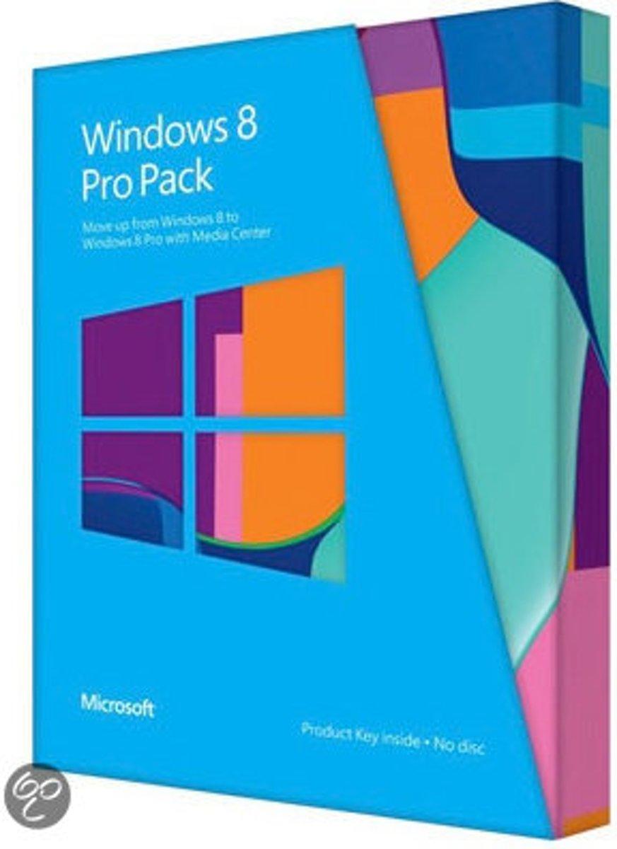 Microsoft Windows Pro Pack 8 - Nederlands / 32-bit/64-bit / PUP Medialess / Win to Pro MC kopen