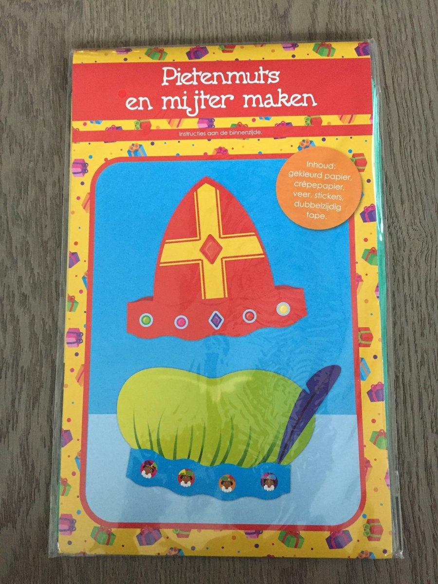 Pietenmuts & Mijter Maken  - Pakket Rood
