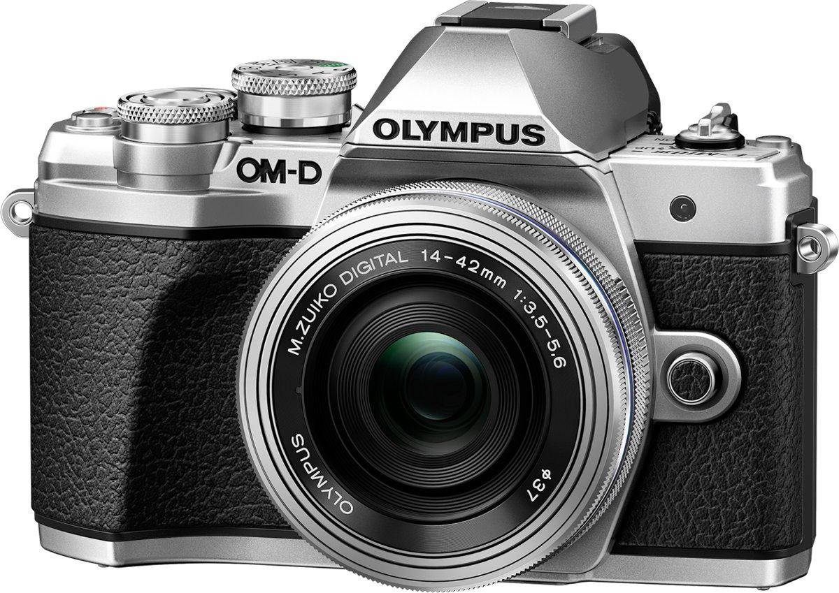 Olympus OM-D E-M10 Mark III - Zilver + 14-42mm (Zilver)
