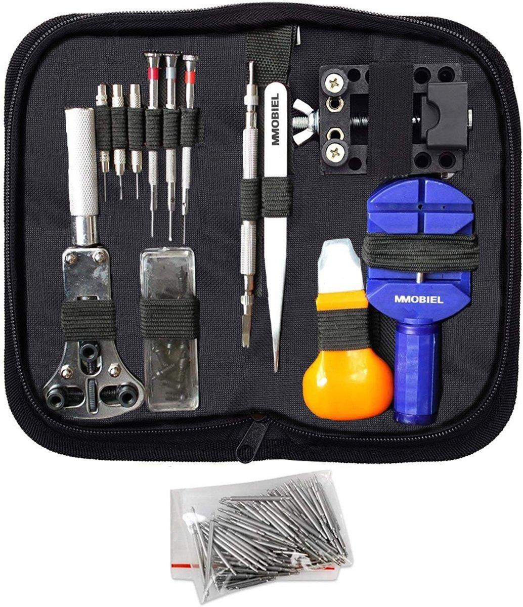 MMOBIEL 144 Delige Precisie Reparatie Set / Toolkit voor Horloge Reparatie kopen