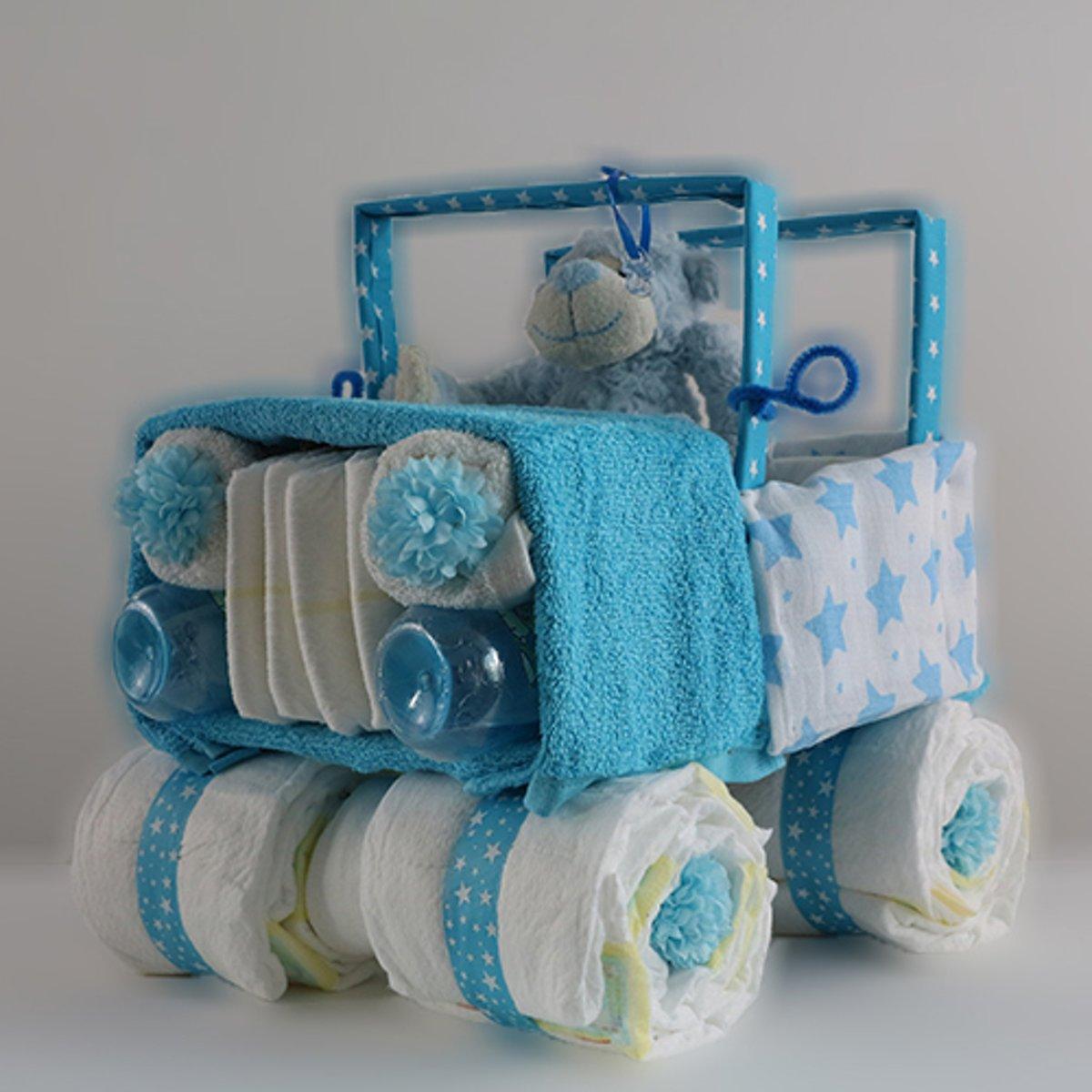 Jeep Luiertaart Blauw kopen