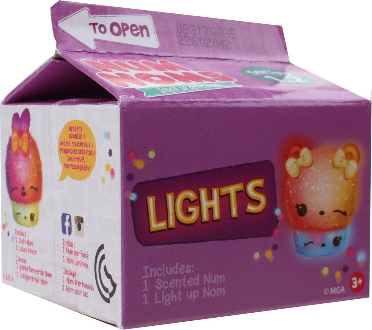 Num Noms Mystery Pack Lights: Serie 1.2 2-delig