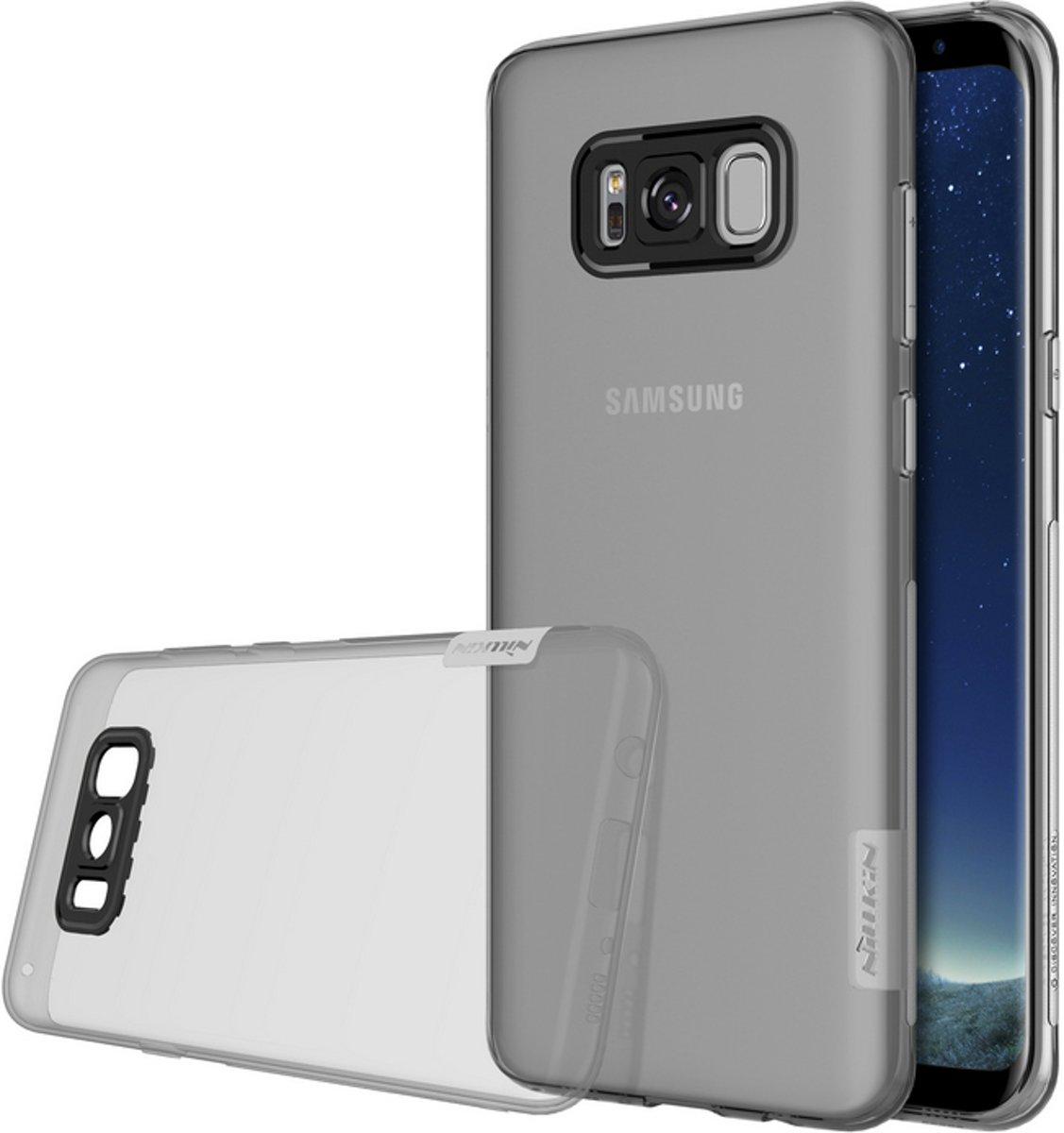 Cas Tpu Naturellement Gris Pour Samsung Galaxy S8, Plus