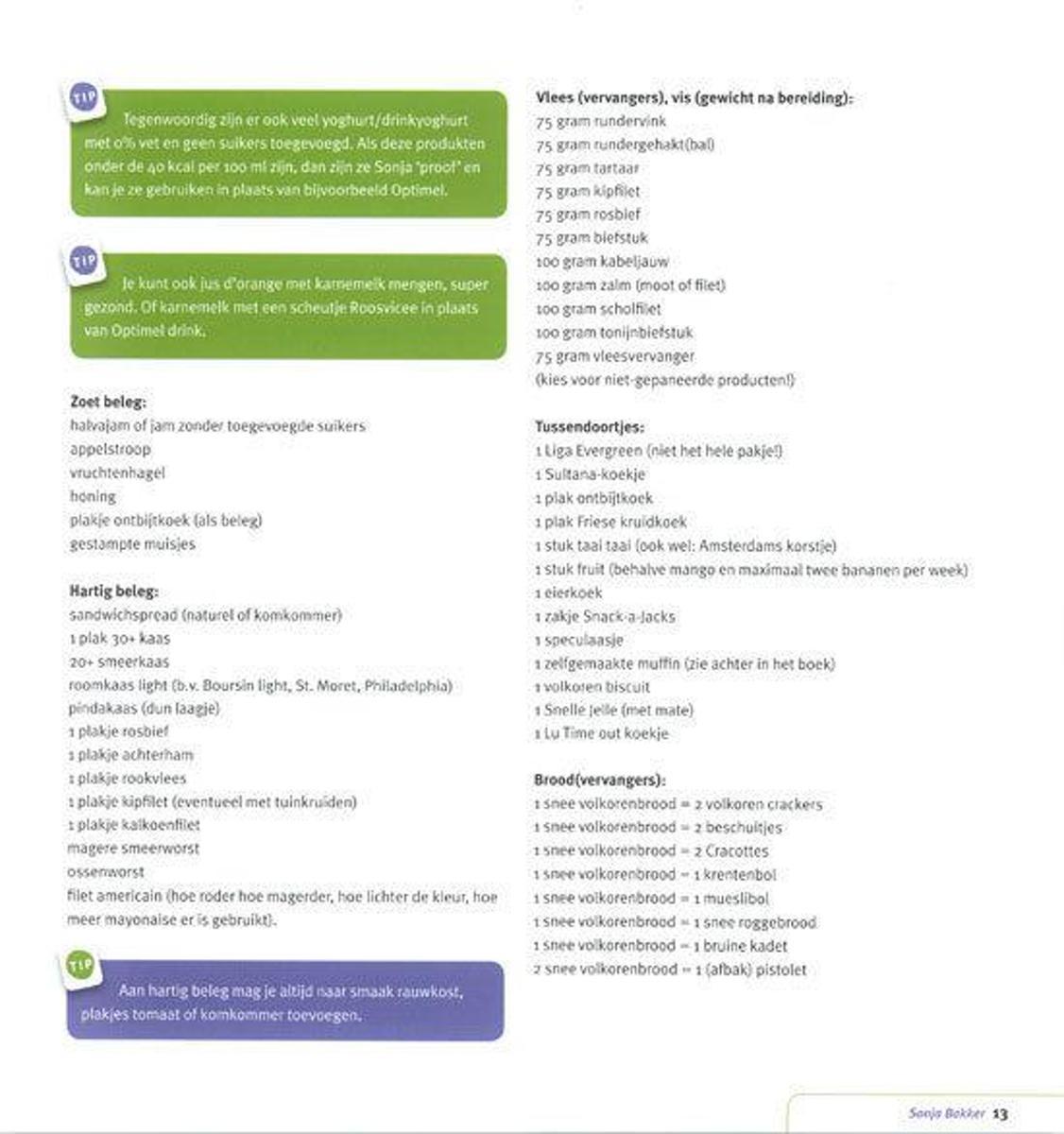 dc33b2cc014 bol.com | Bereik en behoud je ideale gewicht!, Sonja Bakker | 9789078211006  | Boeken