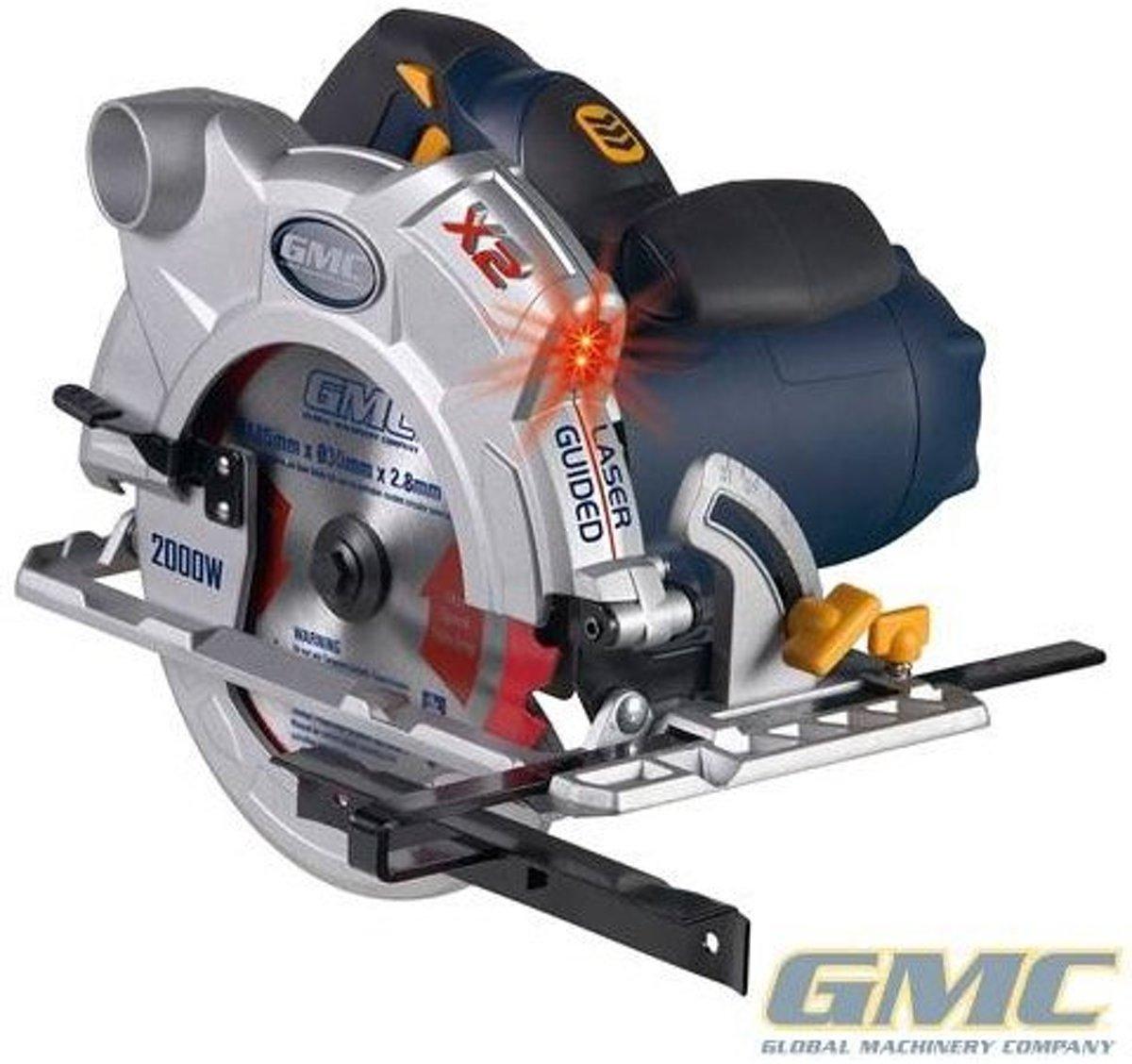 GMC 2000 W cirkelzaag, 185 mm